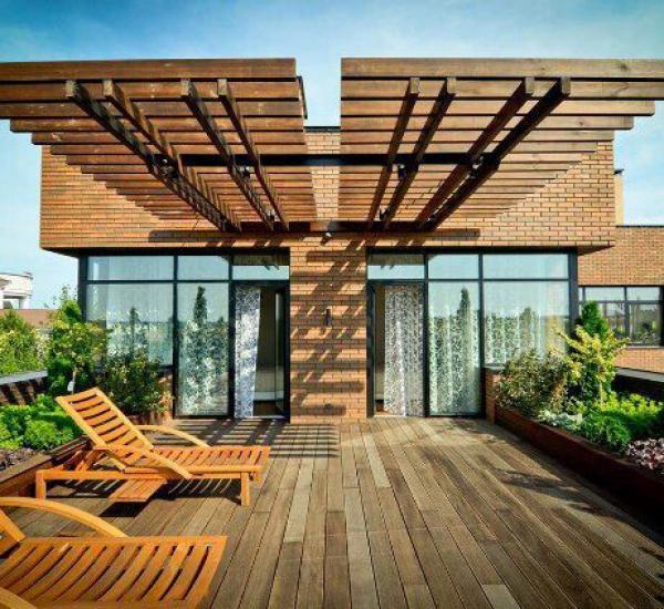 屋顶花园家具素材07