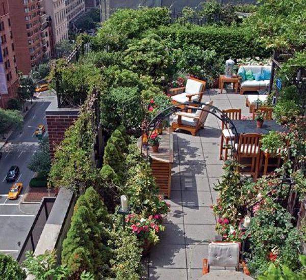 屋顶花园家具素材10