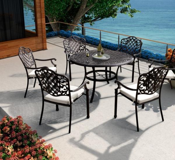 铸铝桌椅 FCO-CAO004