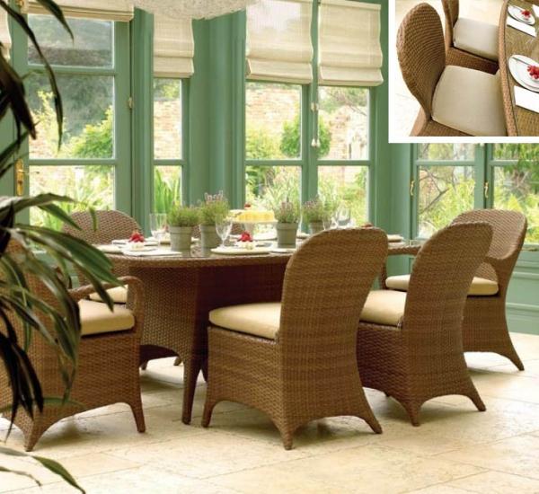 藤餐桌椅 FCO-2468B